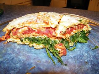 Veggie Pasta Pie
