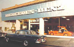 Capitol hill s auto row fades away mercedes dealership for Mercedes benz dealership seattle