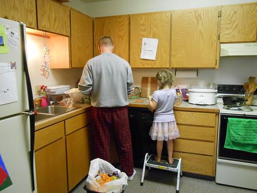 Kitchen Help- Veggie Prep