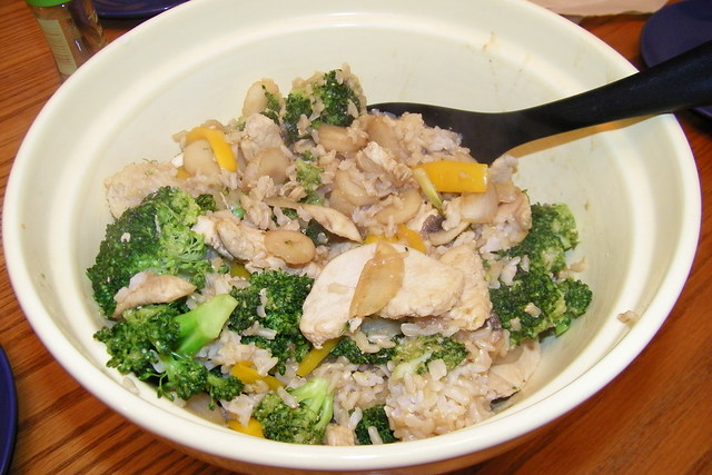 Chicken Broccoli With Rice