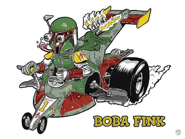 Boba Fink Print