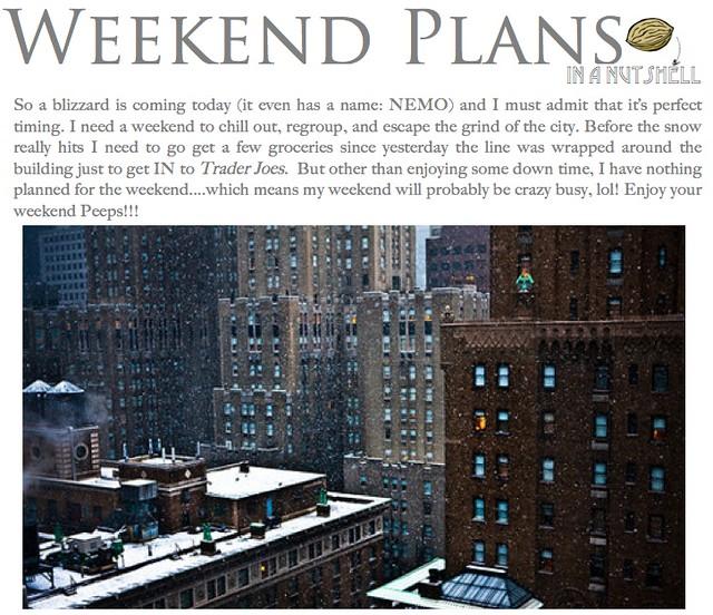 weekend plans 2.8