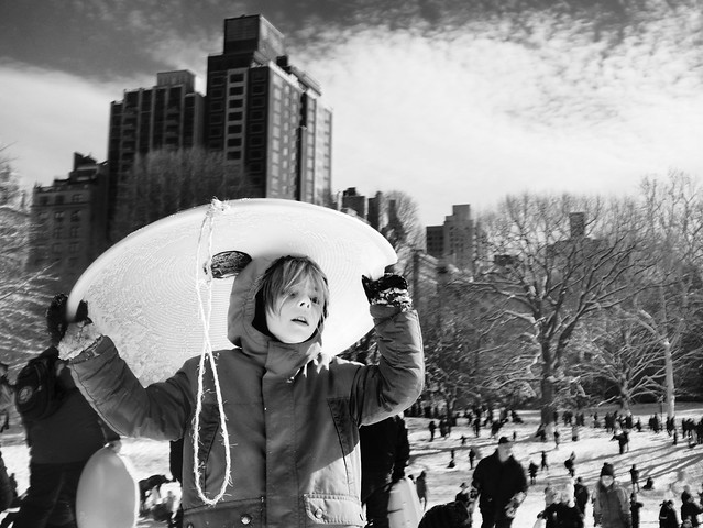 """The Shield of Childhood"" -the Nemo series- Central Park, New York City."