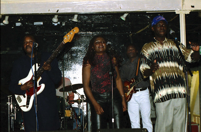 Impala from Uganda at the Africa Centre London April 2002 000