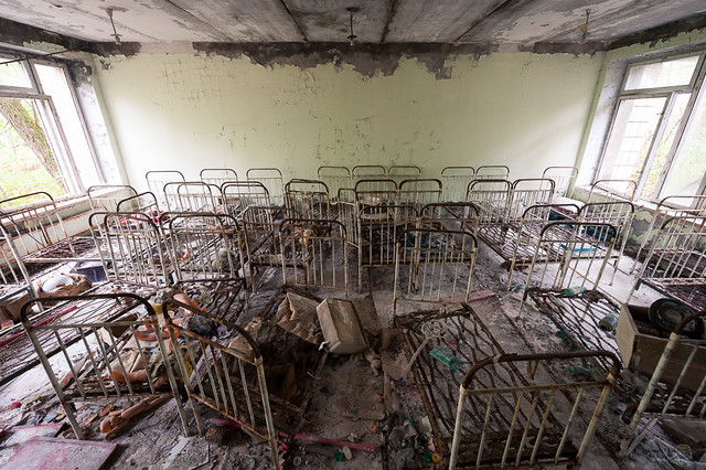 "Pripyat - Kindergarten ""Golden Key"" (золотий Ключик)"