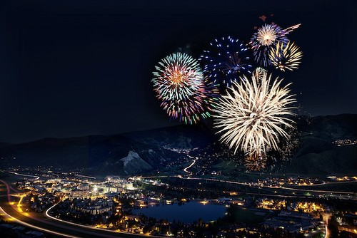 Fireworks, Avon, Colo.