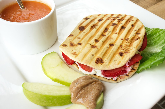 Strawberry & Goat Cheese Panini | Flickr - Photo Sharing!