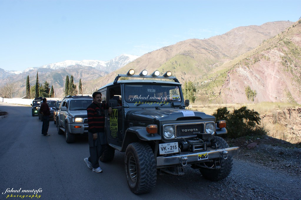 Muzaffarabad Jeep Club Neelum Snow Cross - 8469369980 db19d3a618 b