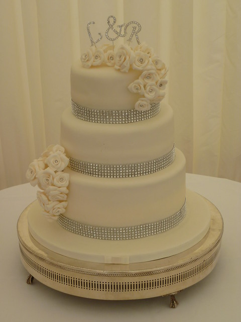 Wedding Cake Decorations Diamante : Diamante Wedding Cake Flickr - Photo Sharing!