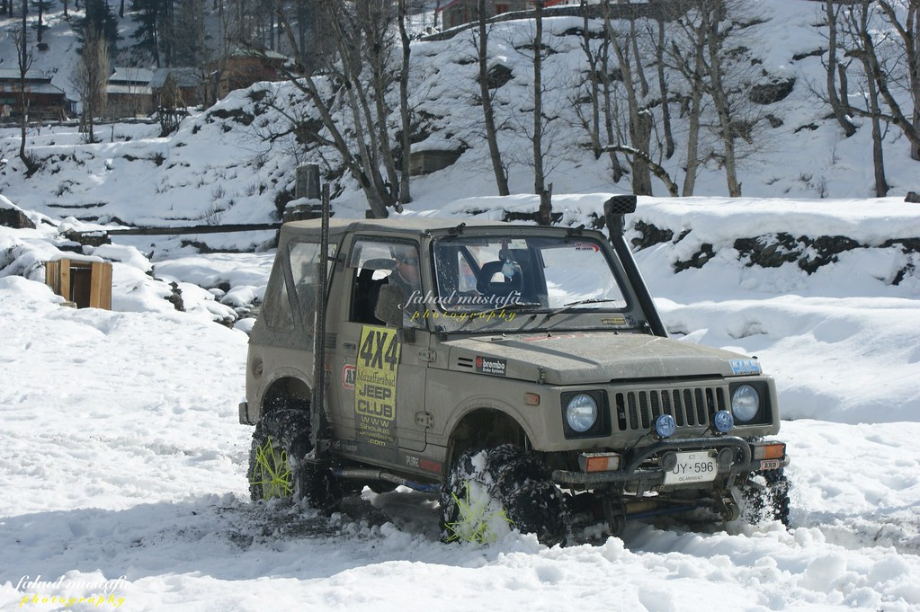 Muzaffarabad Jeep Club Neelum Snow Cross - 8472105884 a1252f3643 b