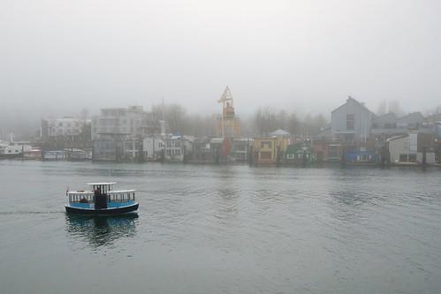 Foggy Granville Island