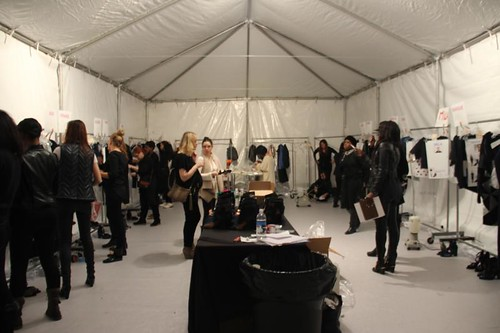 Fashion Show Dressing Room act as a dressing room for