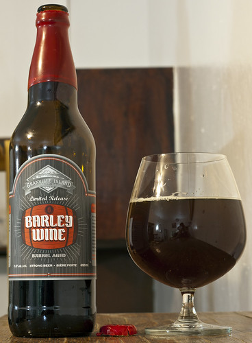 Review: Granville Island Barley Wine (Barrel Aged) by Cody La Bière