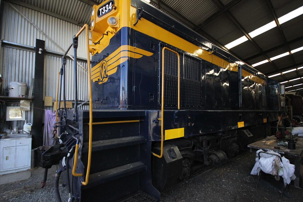 T334 Moroduc Railway Shed by Simon Tatt