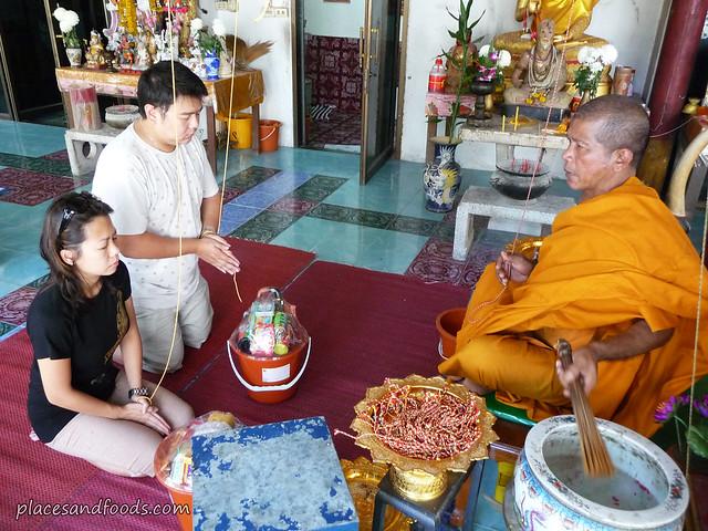 Wat Pah Koh Suwanaram blessing