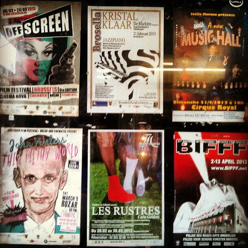 this is why i love #brussels #agenda #filmfestival #bifff #offscreen #indie #poster
