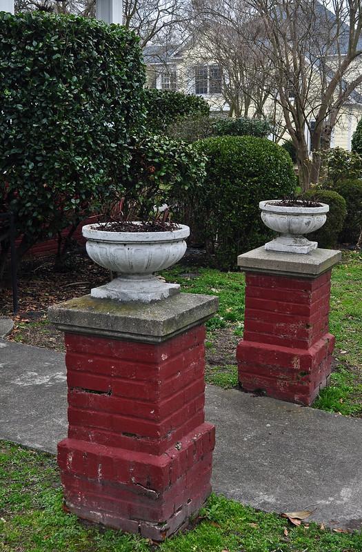 Red Plinths
