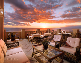 Terrace at sunset suite 1611 at Iberostar El Mirador