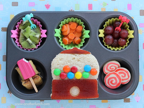 Muffin Tin Monday - Sweets & Treats lunch