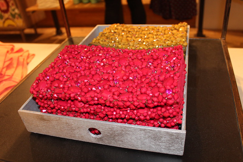 Anthropologie beaded clutch