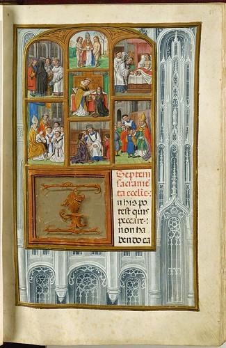 021-Los siete sacramentos de la Iglesia-35 recto-GKS 1605 4 º Salterio - 1500-1535- The Royal Library