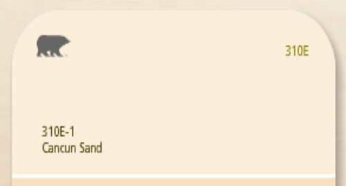Behr Cancun Sand