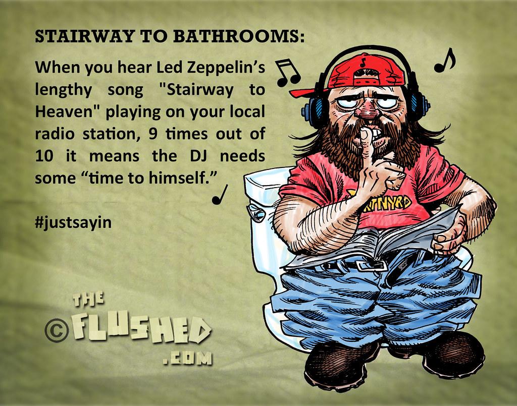 Stairwaytobathrooms