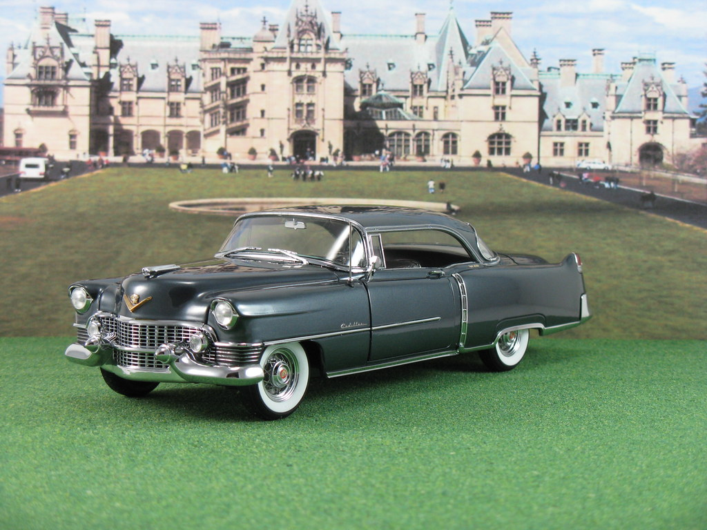 Diecast Car Forums Pics Cadillac Zone 1954 Sedan Deville Dbm052 A Coupe Ht Gander Gray