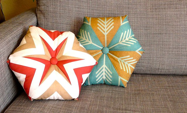 How to Make a Kaleidoscope Pillow (a Guest Tutorial for Spoonflower)