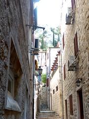 Montenegro - Kotor, narrow alleyway