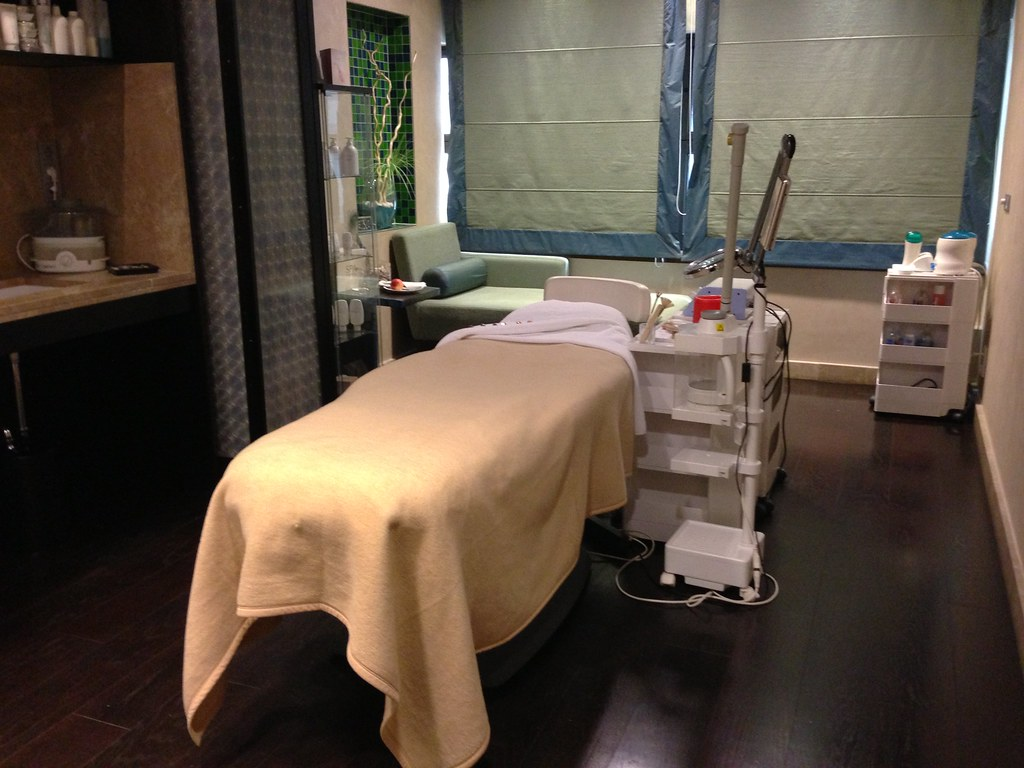 Spa treatment rooms at Intercontinental Hotel, Budapest