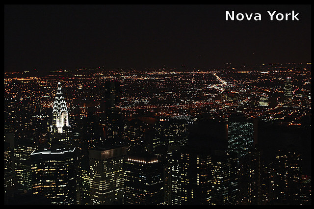Vista do topo do Empire State Building - Nova York