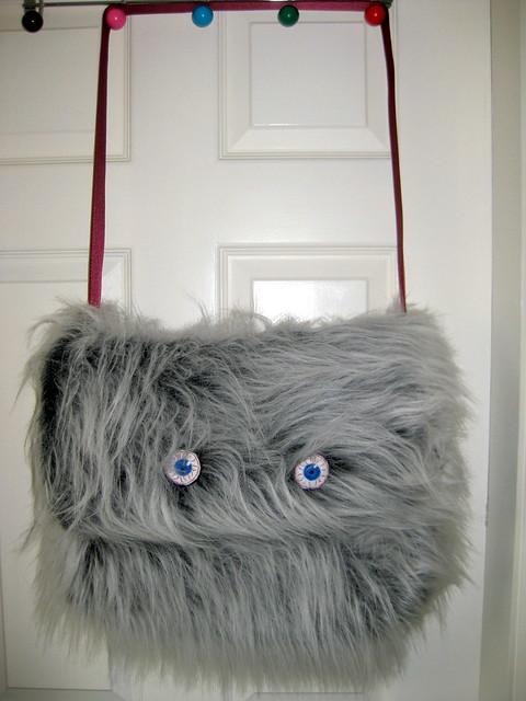 Monster messenger bag
