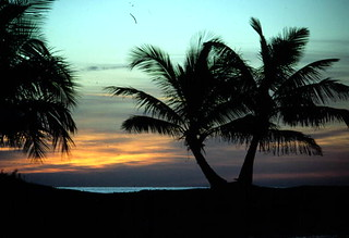 Sunset at Smathers Beach: Key West, Florida