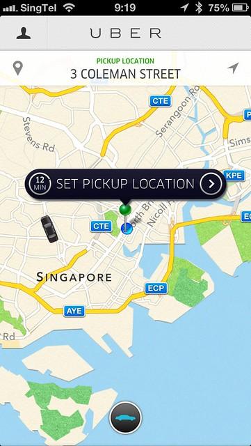 Uber iOS App
