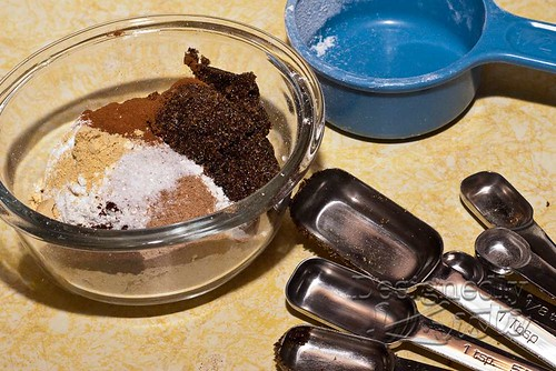Dry Ingredients for Gingerbread German Pancake