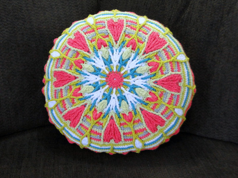 mandala pillow!