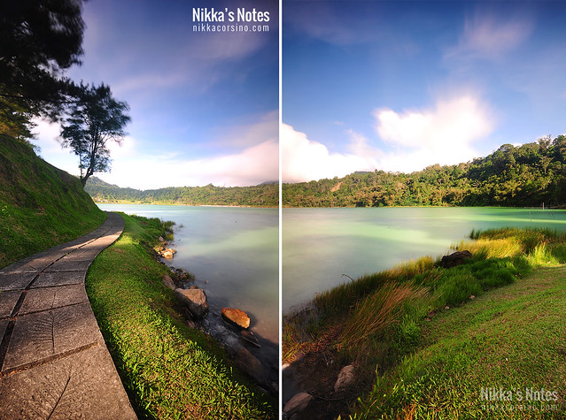 Nikka's Notes | Lake Linow, Indonesia