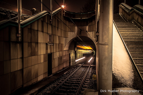 Out of the railway tunnel by Dirk Mueller Photography