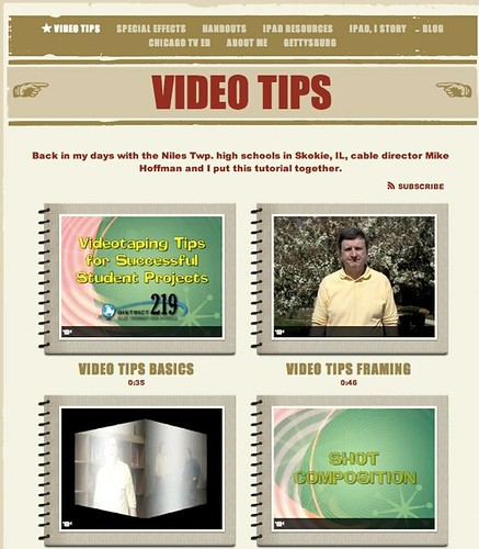 Video Tips by Joe Brennan