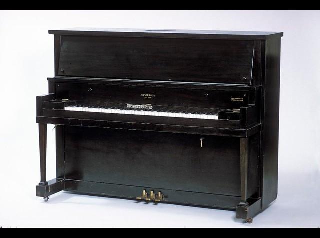 irving berlin 39 s weser bros transposing upright piano flickr photo sharing. Black Bedroom Furniture Sets. Home Design Ideas