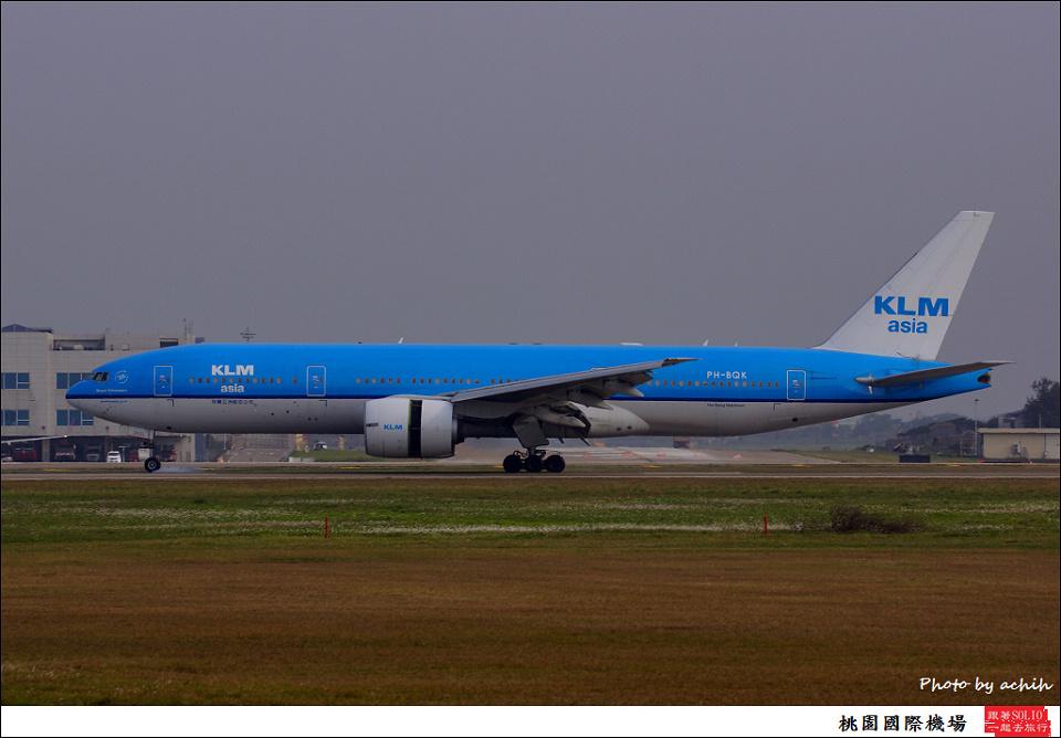 荷蘭亞洲航空PH-BQK客機003
