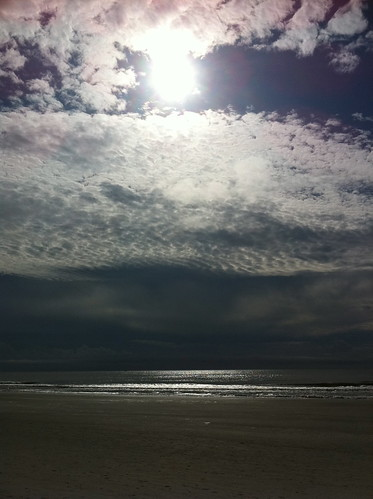 ocean sky cloud sun beach clouds sand waves shore myrtle waters