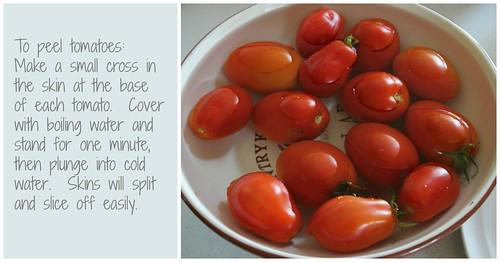 Tomato Pasta Sauce Collage 2