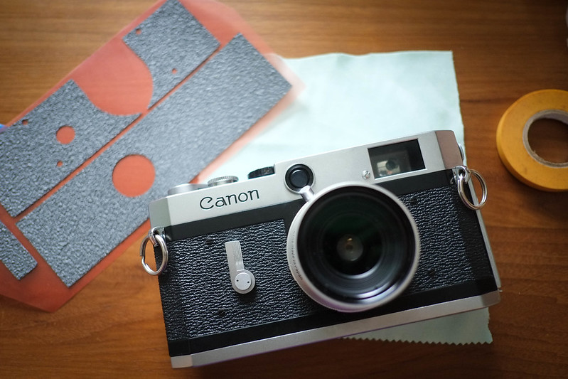 Canon P reskin