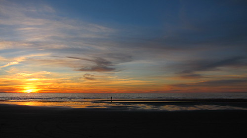 new sunset newzealand beach january zealand nz onlocation waitarere 2013 kiwifrenzy
