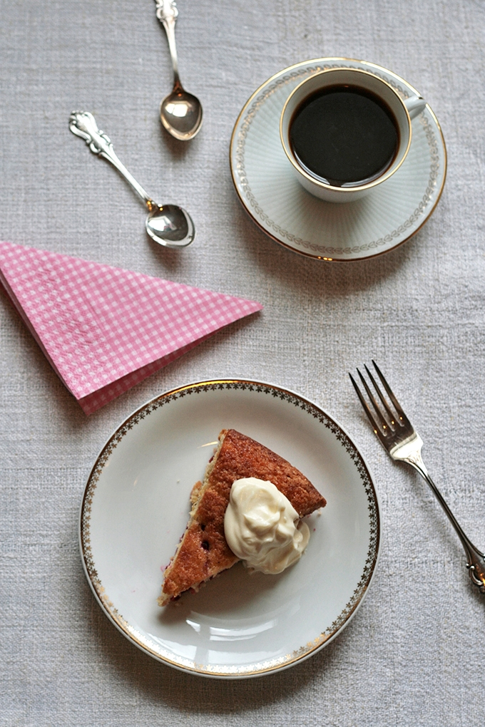 Citrusy Raspberry Cornmeal Cake 2