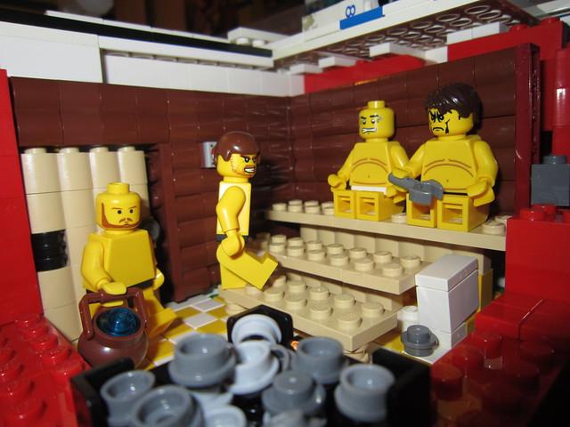 Moc Indoor Swimming Pool Lego Town Eurobricks Forums