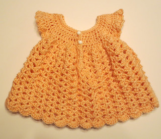 Baby Pinafore and Booties