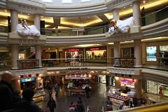 Inside a mall